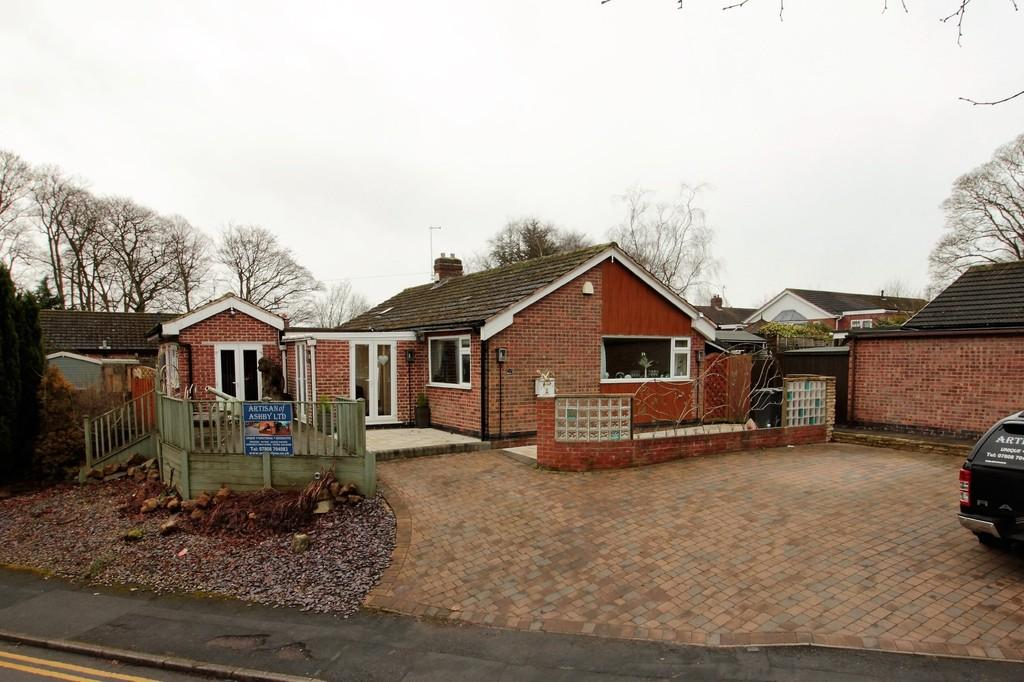 3 Bedrooms Detached Bungalow for sale in Trinity Close, Ashby-de-la-Zouch