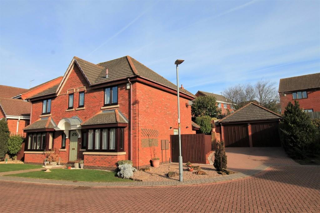 4 Bedrooms Detached House for sale in Tymecrosse Gardens, Market Harborough