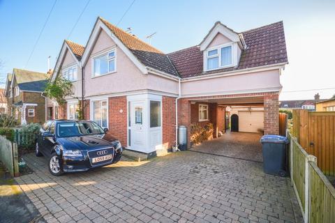3 bedroom semi-detached house for sale - New Village, Brantham