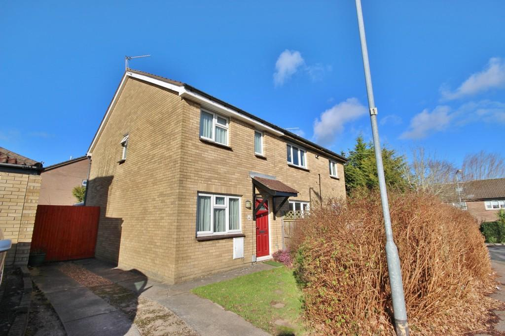 3 Bedrooms Semi Detached House for sale in Burne Jones Close, Danescourt, Cardiff