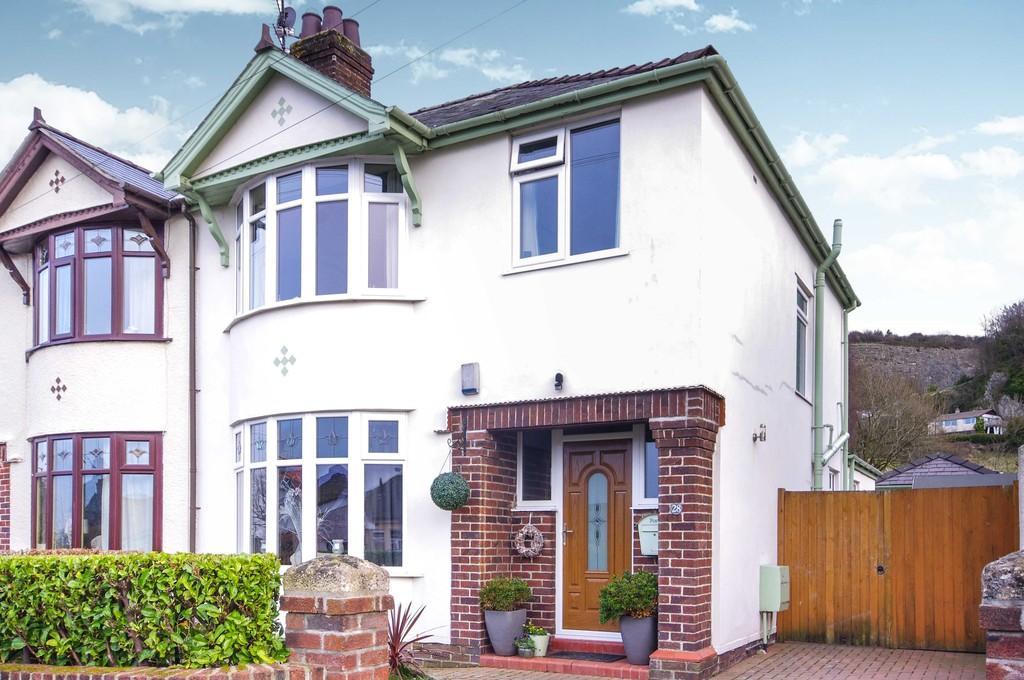 3 Bedrooms Semi Detached House for sale in Bryn Llys, Meliden, LL19