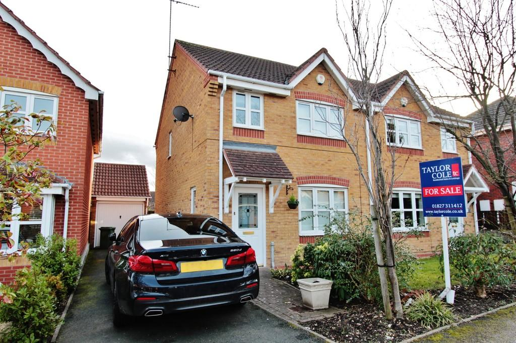 3 Bedrooms Semi Detached House for sale in Ascot Drive, Dosthill