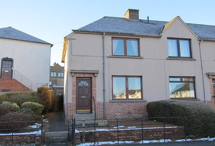 2 Bedrooms Terraced House for sale in 4 Hume Place, Jedburgh, TD8 6HW