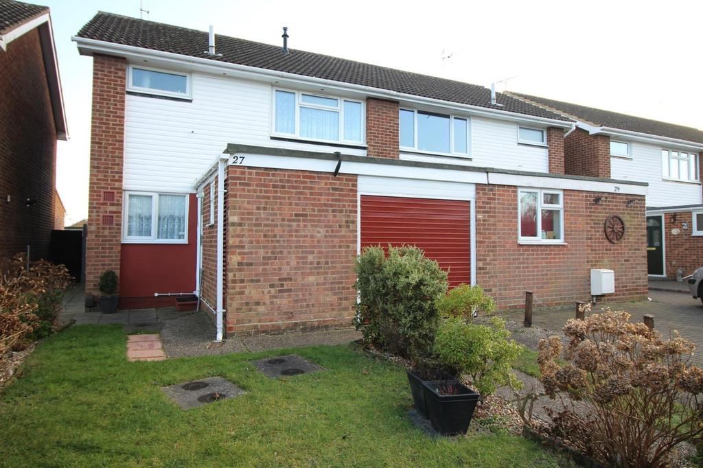 3 Bedrooms Semi Detached House for sale in The Willows, Colchester, Essex, CO2