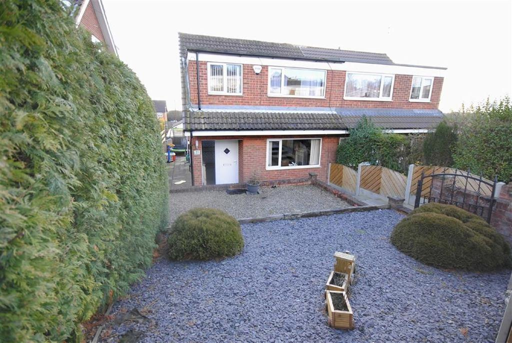 3 Bedrooms Semi Detached House for sale in Hall Park Croft, Kippax, Leeds, LS25