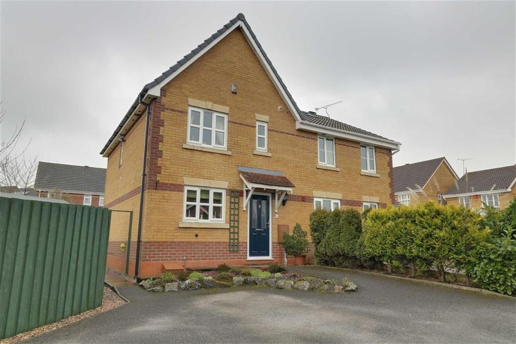 3 Bedrooms Semi Detached House for sale in Merlin Way, Kidsgrove, Stoke-on-Trent