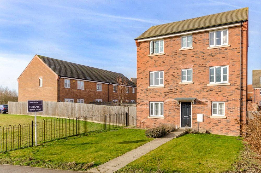 4 Bedrooms Detached House for sale in The Gables, Bourne, PE10