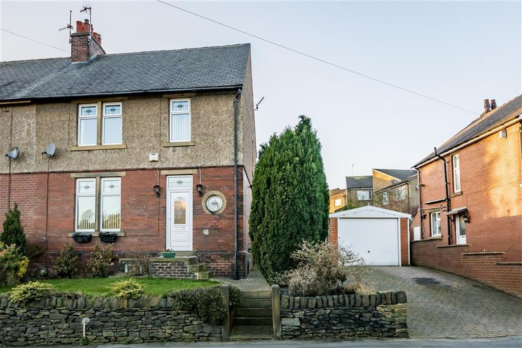 3 Bedrooms Semi Detached House for sale in Newsome Road South, Berry Brow, Huddersfield, West Yorkshire, HD4