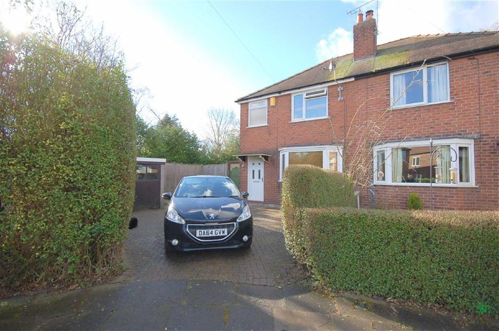 2 Bedrooms Semi Detached House for sale in Warrington Avenue, Crewe