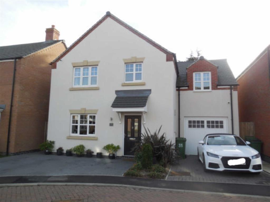 4 Bedrooms Detached House for sale in Church Farm Close, Cosby