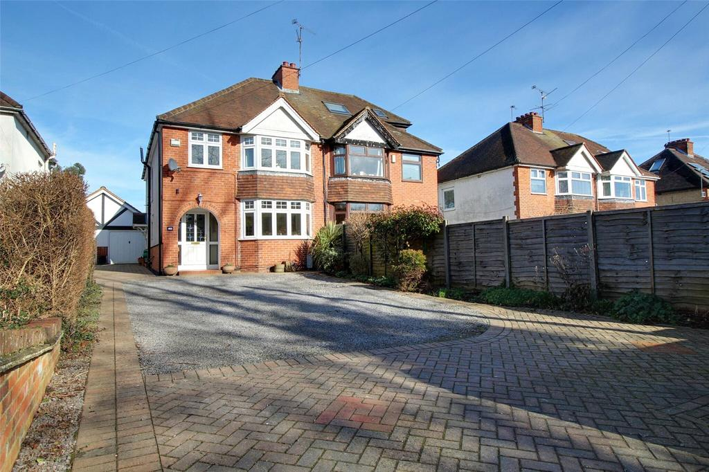 4 Bedrooms Semi Detached House for sale in Reading Road, Woodley, Reading, Berkshire, RG5