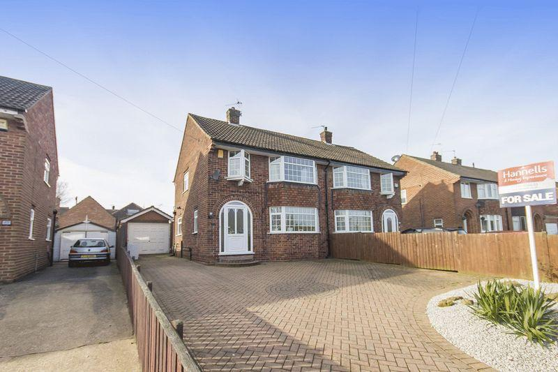 3 Bedrooms Semi Detached House for sale in Blenheim Drive, Allestree