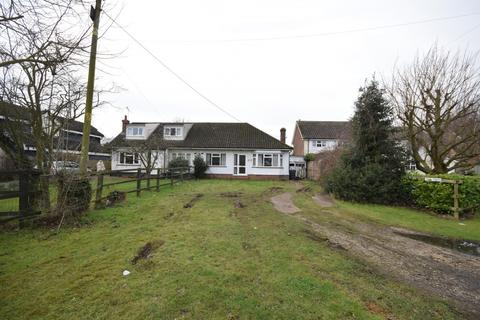 1 bedroom semi-detached bungalow for sale - Chelmsford Road, Causeway End, Dunmow, Essex, CM6