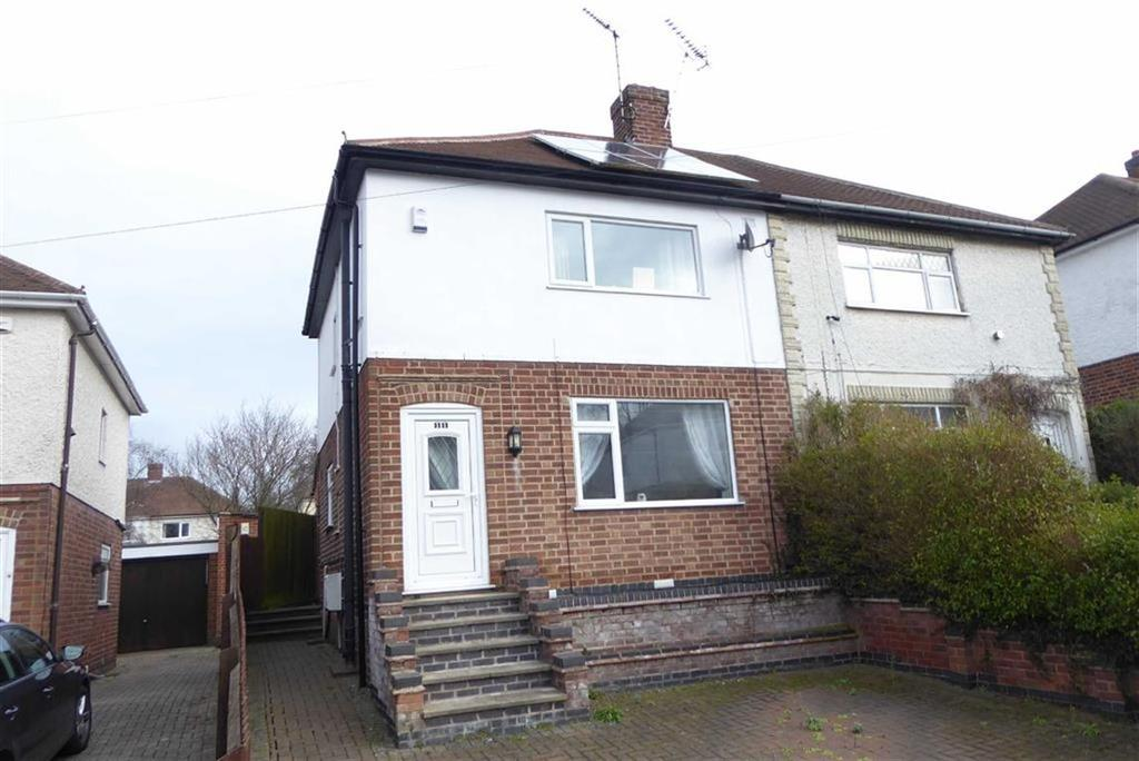3 Bedrooms Semi Detached House for sale in Manor Gardens, Glenfield