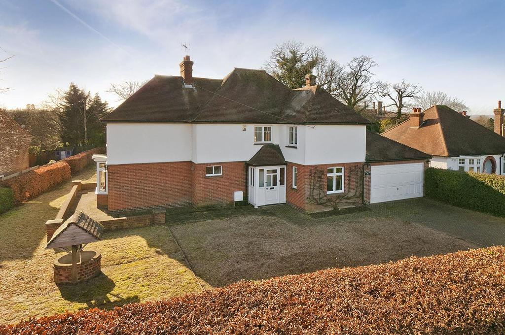 4 Bedrooms Detached House for sale in Rectory Lane South, Leybourne, West Malling
