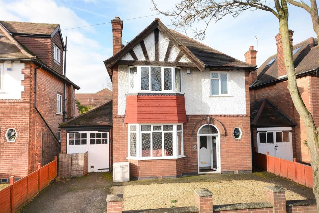 4 Bedrooms Detached House for sale in Repton Road, West Bridgford, Nottingham