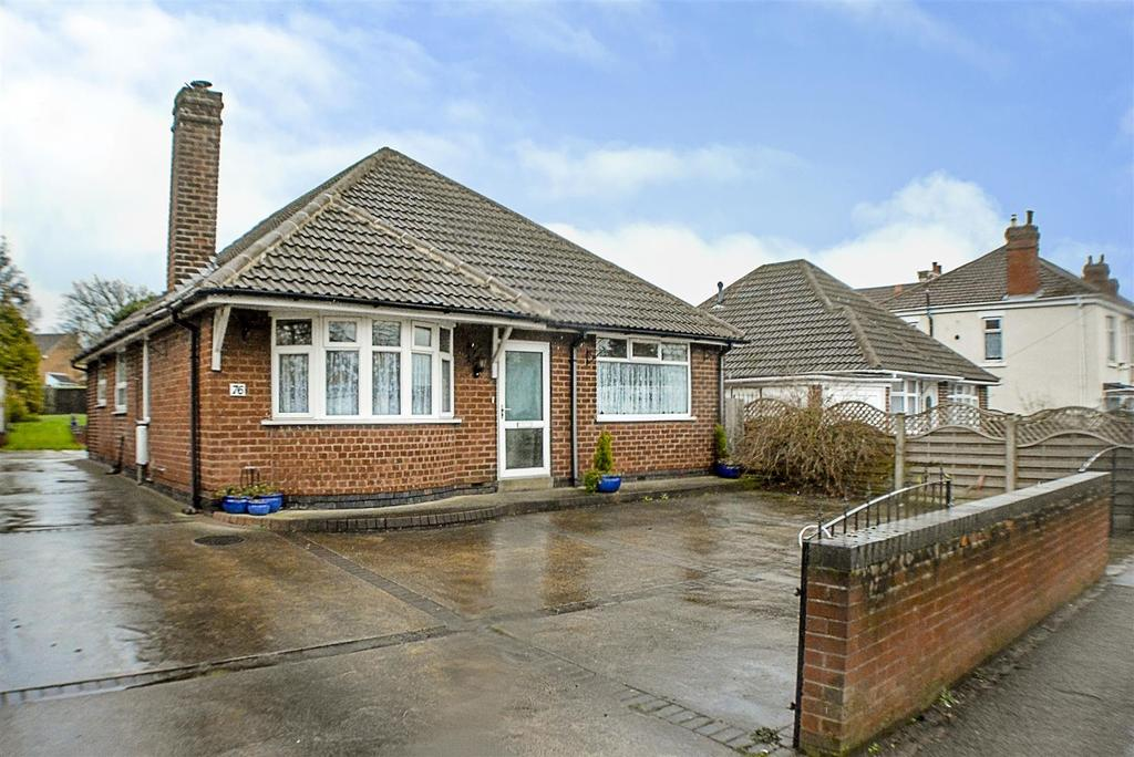 3 Bedrooms Detached Bungalow for sale in Leeming Lane North, Mansfield Woodhouse