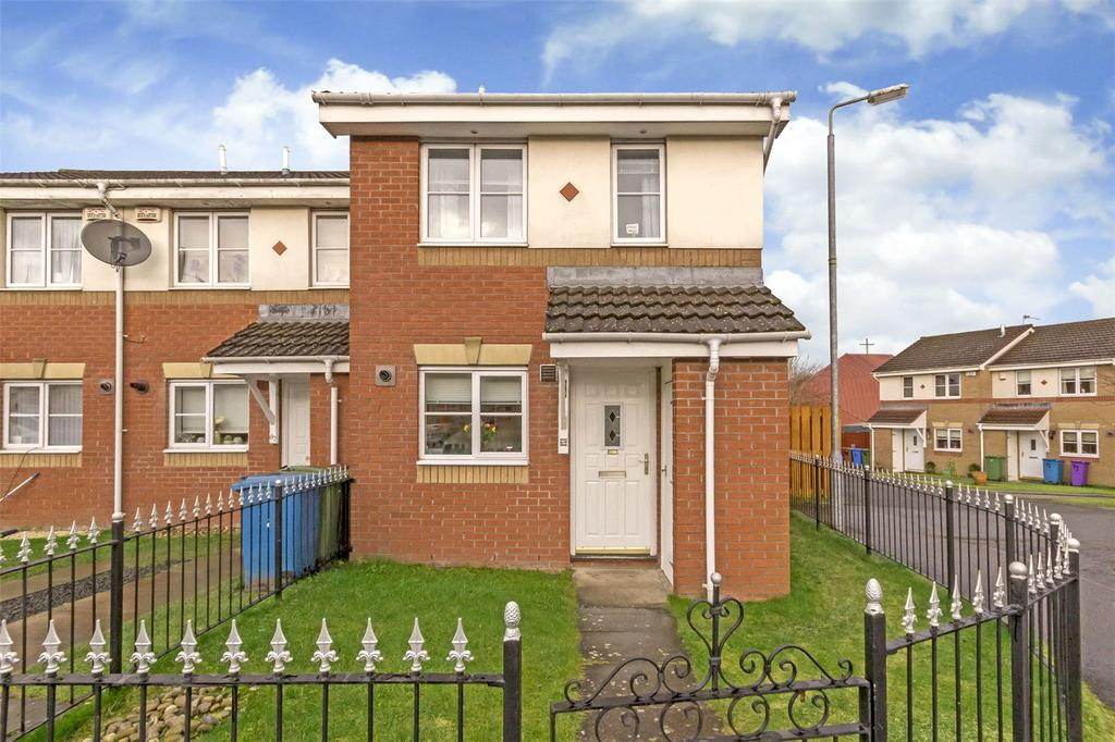 2 Bedrooms End Of Terrace House for sale in 69 Battles Burn Drive, Glasgow, Lanarkshire, G32