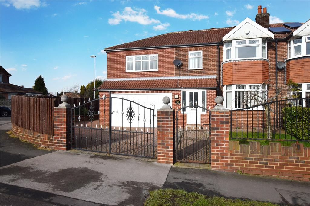 5 Bedrooms Semi Detached House for sale in Ring Road, Middleton, Leeds, West Yorkshire, LS10