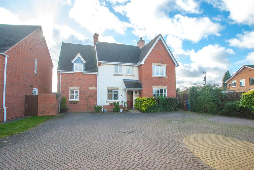 4 Bedrooms Detached House for sale in Bycars Farm Croft, Fradley