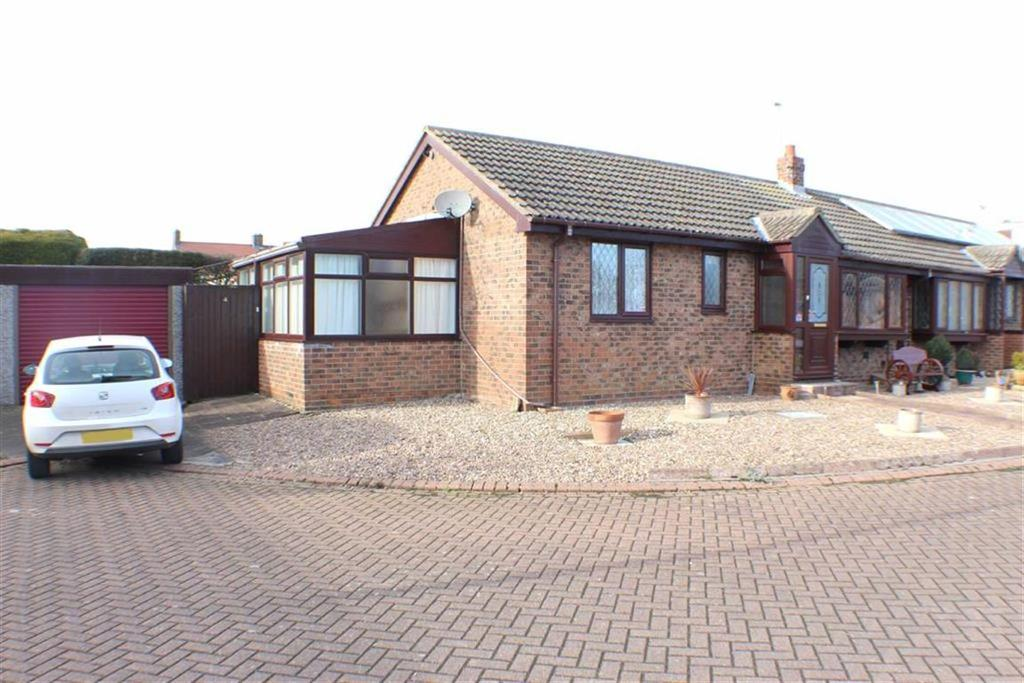 2 Bedrooms Semi Detached Bungalow for sale in The Paddock, Bempton, East Yorkshire