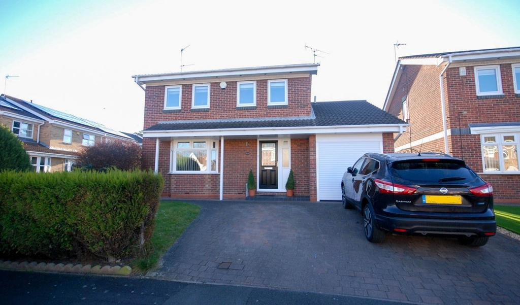 4 Bedrooms Detached House for sale in The Cornfields, Hebburn