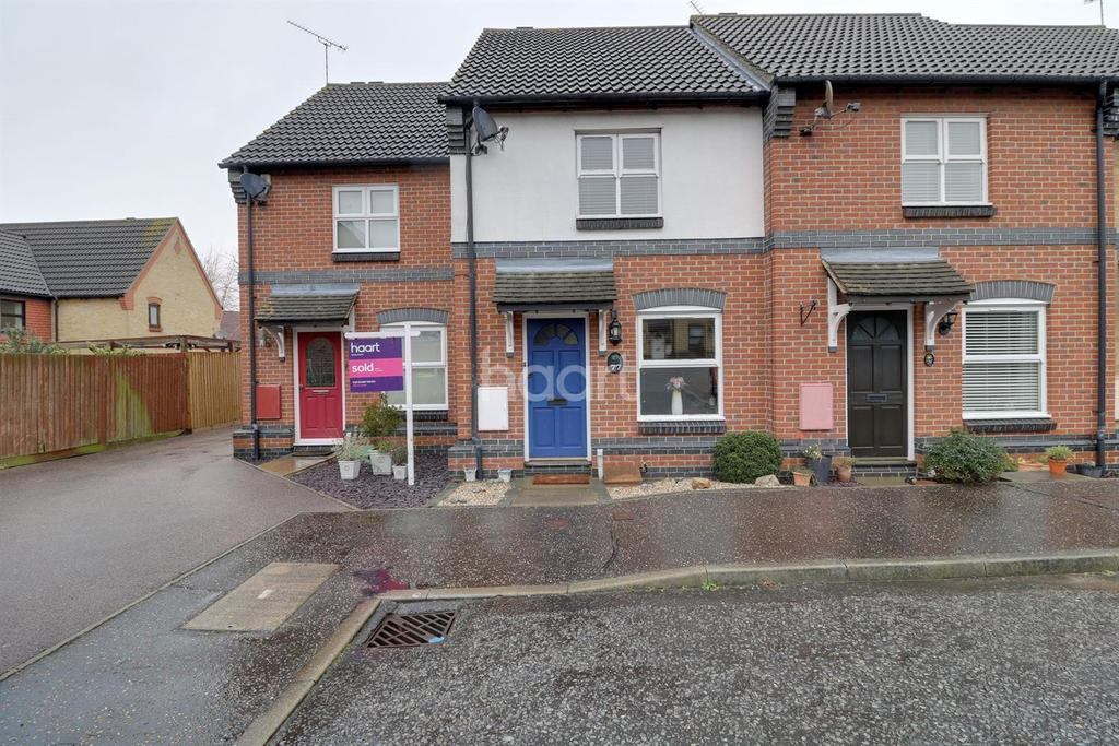 2 Bedrooms Terraced House for sale in Langham Drive, Rayleigh
