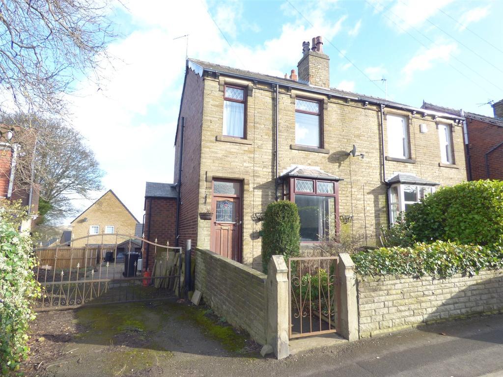 2 Bedrooms Semi Detached House for sale in Commercial Road, Skelmanthorpe, Huddersfield, West Yorkshire, HD8
