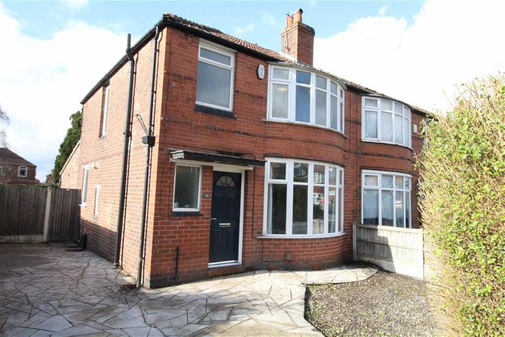 3 Bedrooms Semi Detached House for sale in Brookleigh Road, Withington, Manchester