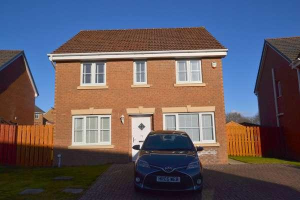 4 Bedrooms Detached House for sale in 73 Cornfoot Crescent, Gamekeepers Wynd, East Kilbride, G74 3ZB