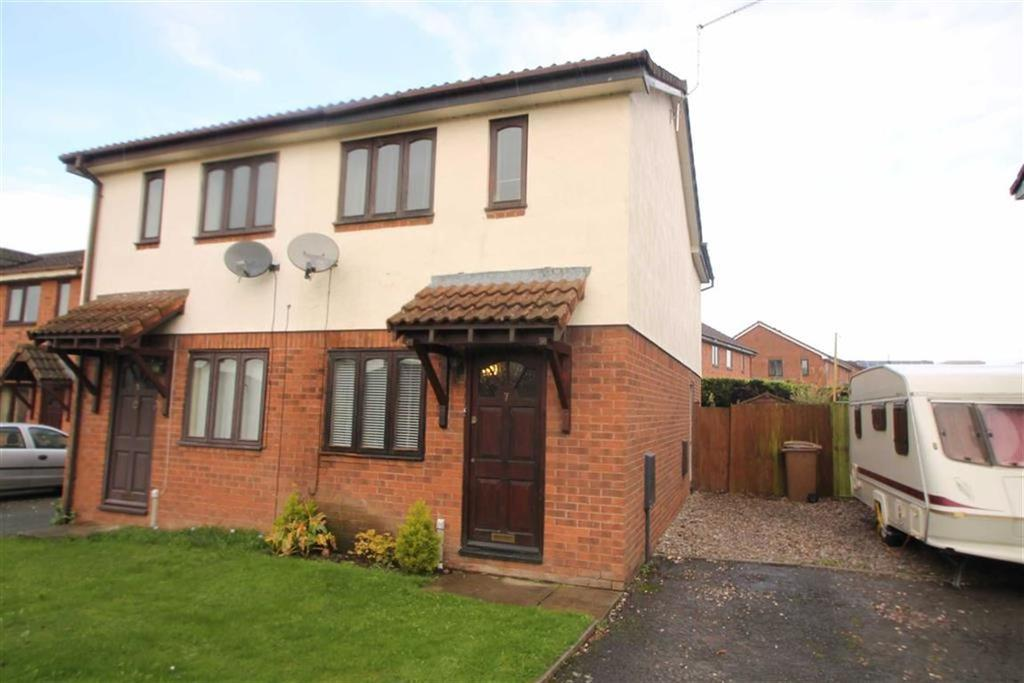 2 Bedrooms Semi Detached House for sale in Diamond Avenue, Oswestry