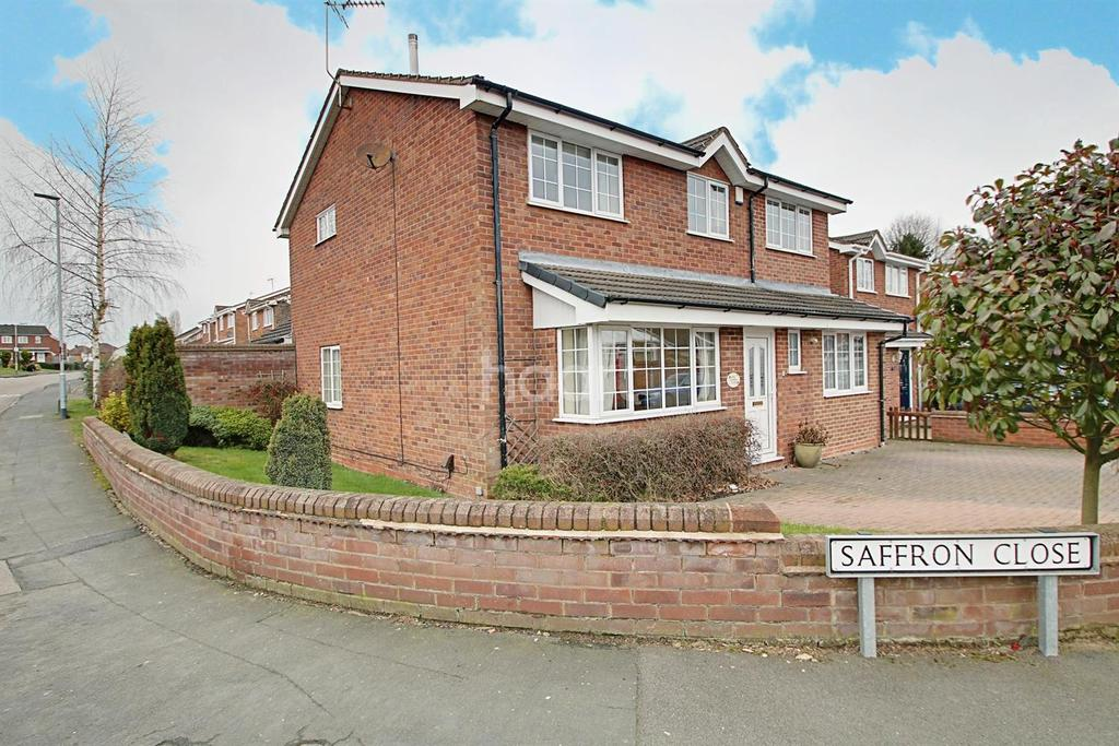 4 Bedrooms Detached House for sale in Saffron Close, Barwell, Leicestershire