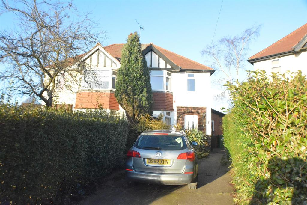 3 Bedrooms Semi Detached House for sale in Bathwood Drive, Mansfield