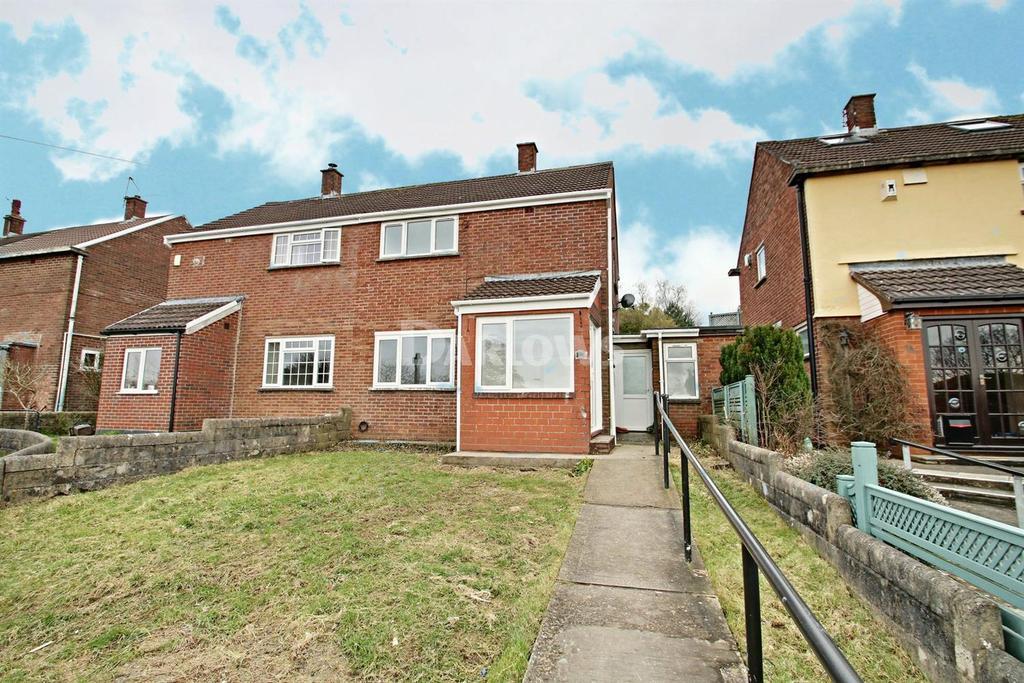 2 Bedrooms Semi Detached House for sale in Glastonbury Terrace, Llanrumney, Cardiff
