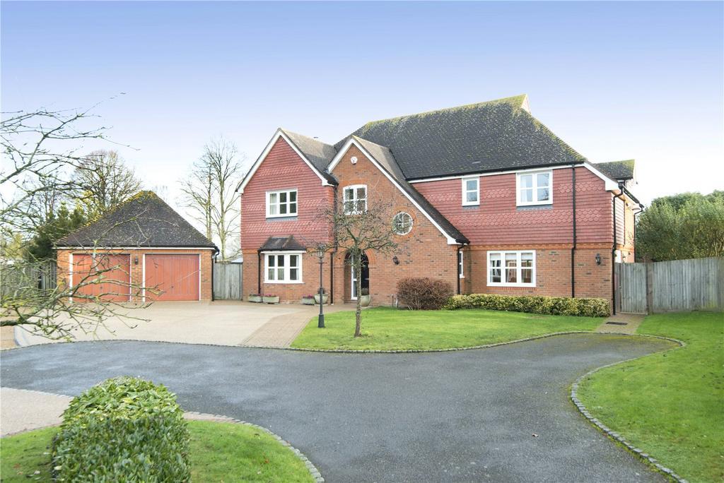5 Bedrooms Detached House for sale in James Close, Maidstone Road, Hadlow, Tonbridge, TN11