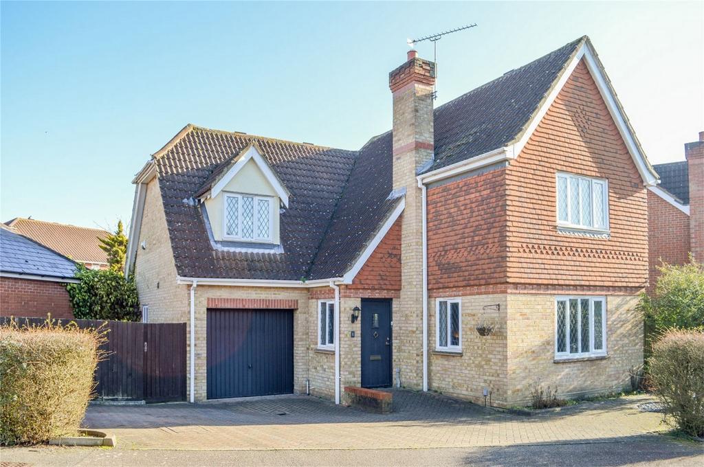 4 Bedrooms Detached House for sale in Larkspur Close, BISHOPS STORTFORD, Hertfordshire