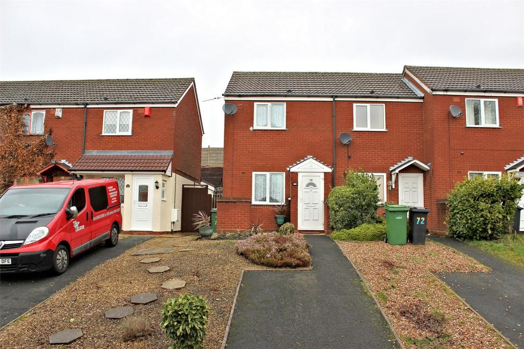1 Bedroom End Of Terrace House for sale in 74 Weavers Rise, Netherton, DUDLEY, West Midlands
