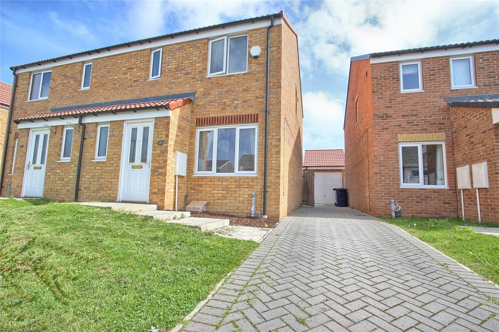 3 Bedrooms Semi Detached House for sale in Barford Close, Redcar