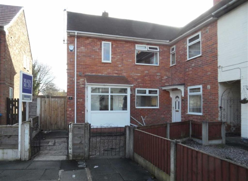 2 Bedrooms End Of Terrace House for sale in Herle Drive, Manchester