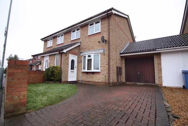 3 Bedrooms Semi Detached House for sale in Sprites Lane, Ipswich