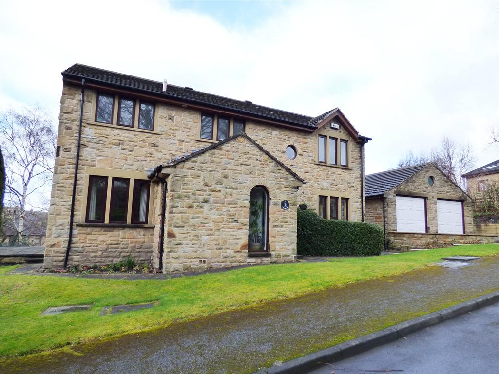 4 Bedrooms Detached House for sale in Birch Park, Brockholes, Holmfirth, HD9