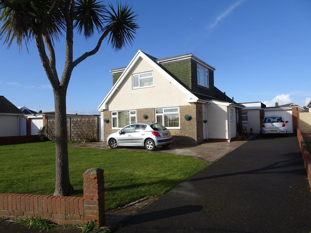 4 Bedrooms Detached Bungalow for sale in SANDPIPER ROAD, REST BAY, POTHCAWL, CF36 3UT