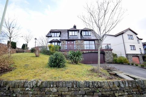 4 bedroom detached house for sale - Ty Garreg, 1 Heol Tynant, Llangeinor, Bridgend, Bridgend County Borough, CF32 8HZ.