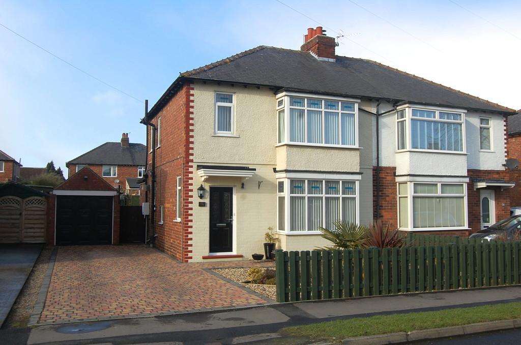 3 Bedrooms Semi Detached House for sale in Hambleton Avenue, Northallerton