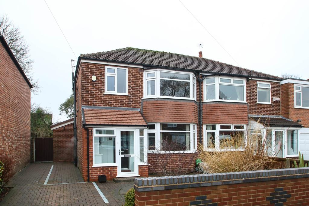 3 Bedrooms Semi Detached House for sale in Hilrose Avenue, Urmston, Manchester, M41