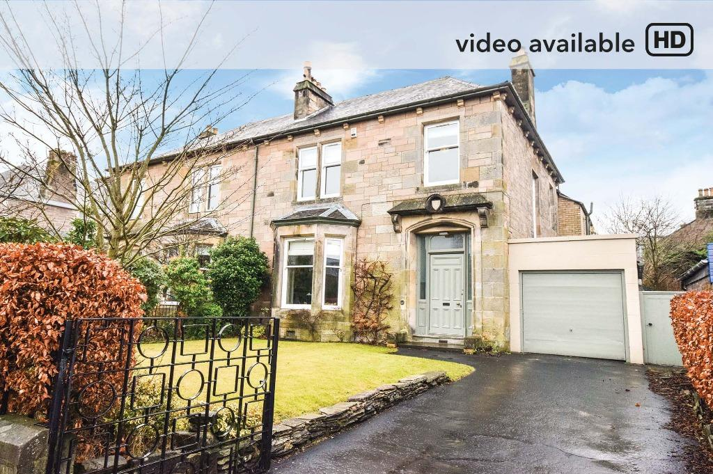 5 Bedrooms Semi Detached House for sale in Pitcullen Terrace, Gannochy, Perth, Perthshire, PH2 7EQ