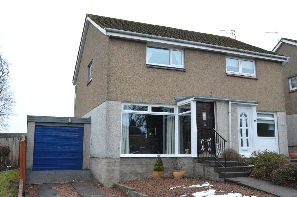 2 Bedrooms Semi Detached House for sale in Westerglen Road, Falkirk, Falkirk, FK1 5ND