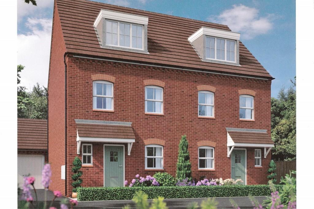 3 Bedrooms Semi Detached House for sale in Burton Road, Ashby-de-la-Zouch