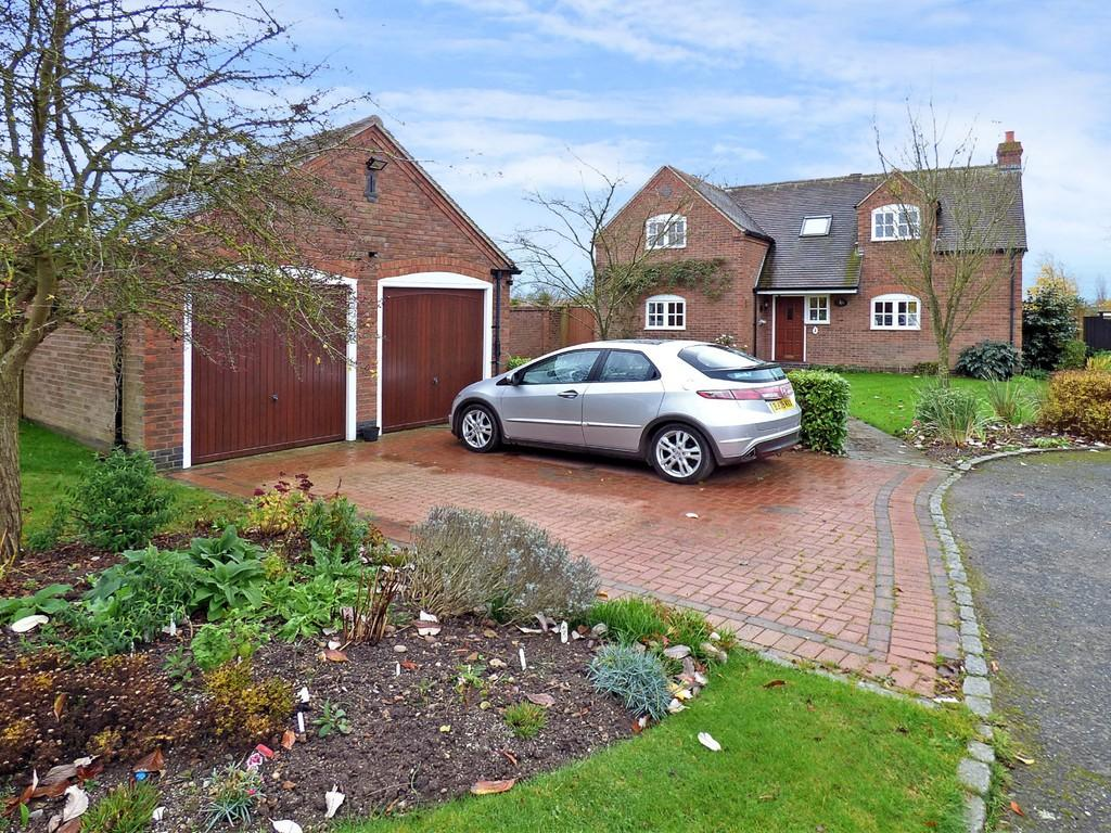 3 Bedrooms Detached House for sale in Manor Close, Harlaston