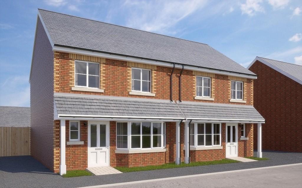 3 Bedrooms Semi Detached House for sale in The Allington, Market Quarter
